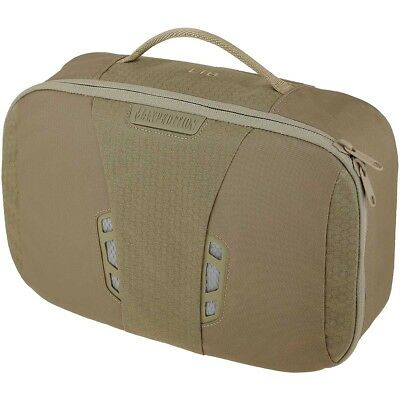 Maxpedition AGR Lightweight Toiletry Bag Hex Ripstop Wash Pack Hygiene Pouch Tan