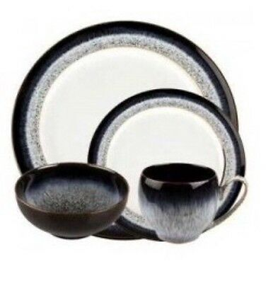 New In Box Denby Halo 16 Piece Dinner Set