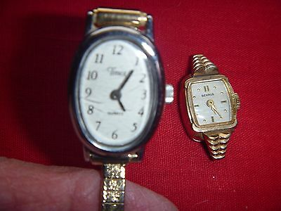 Ladies Benrus  and Timex Wristwatches