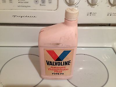 Valvoline Automatic Transmission Fluid Type Fa One Quart Sealed