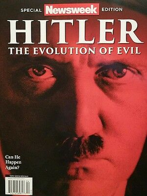 Hitler The Evolution Of Evil Newsweek Magazine 2017 Special Edition  New