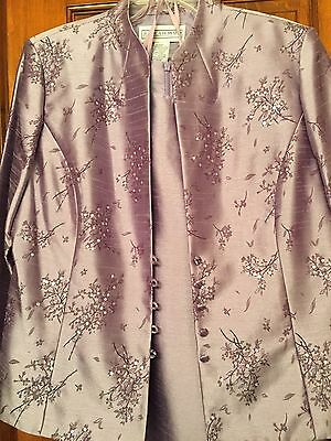 Jessica Howard Mother Of The Bride Formal 2 Piece Purple Size 16