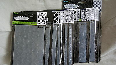DARICE Embossing Folders - Large Variety Lot to Choose from!  TITLES M thru W