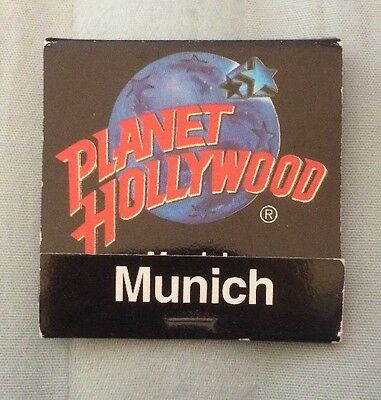 Planet Hollywood Munich, Germany Matchbook, Never Been Used