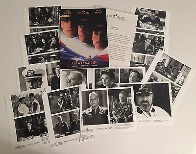 A Few Good Men - Press Kit - Tom Cruise & Jack Nicholson!! 12 photos!!