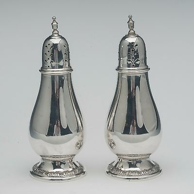 Prelude by International Salt & Pepper shakers