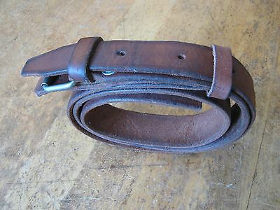 Leather Belt W Buckle For Ship Marine Chronometer Deck Watch Outer Carrying Box