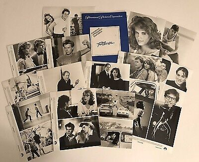 Footloose (1984) - Press Kit - Kevin Bacon & Lori Singer!! 14 photos!!