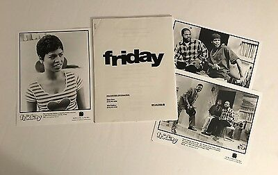 Friday - Press Kit - Ice Cube & Chris Tucker!! 3 photos!