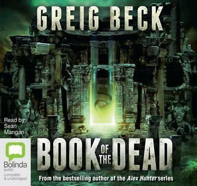 NEW The Book of the Dead By Greig Beck Audio CD Free Shipping