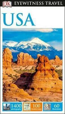 NEW USA By DK Eyewitness Travel Guide Paperback Free Shipping