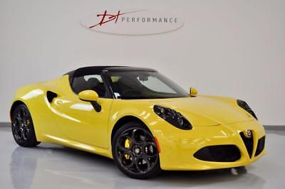 2016 Alfa Romeo 4C 1.7 Tbi Spider 2D Auto 240 Bhp Carbon Lights Huge Specificati