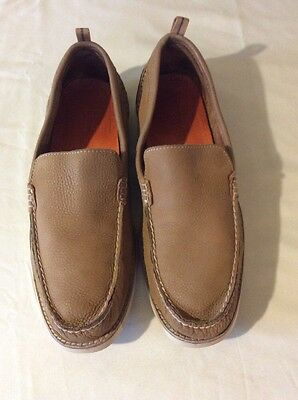 Sperry Top-Sider Men's Tan Leather Slip On Loafers Sz 12 M