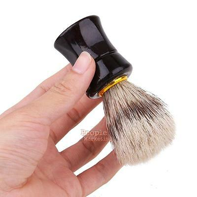Hand-made Men Hair Shaving Brush Silvertip Badger Hair Brushes Shave Razor Tool