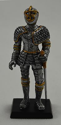 Superb Gothic Fantasy Standing Knight with Sword Figure. Medieval, NEW!