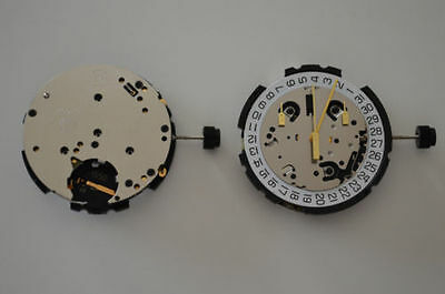 New Eta G10.212 Date At 4H  Chronograph Quartz Watch Movement  Replace G10.211