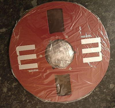 """Brand new Maxell 10.5, 10 1/2"""" x 1/4"""" Reel with Tape"""
