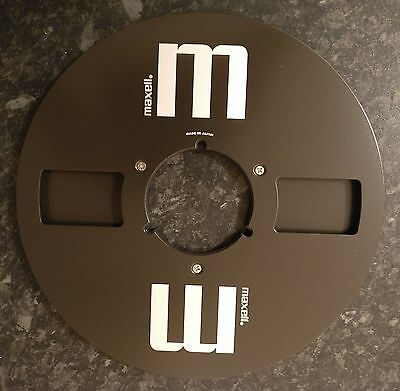 """Brand new Maxell 10.5, 10 1/2"""" x 1/4"""" Reel without Tape"""