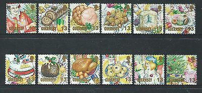 Guernsey 1992 Christmas Set Of 12 Unmounted Mint, Mnh