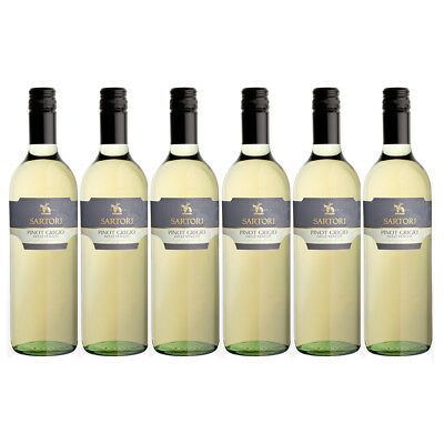 Sartori Pinot Grigio Delle Venezia Case of 6 x 75cl White Wine - Drinks21