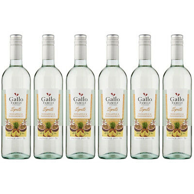 Gallo Spritz Pineapple & Passion 6x75cl Pinot Grigio Blended Wine - Drinks21