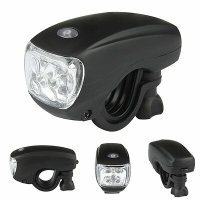 Cycling Bike Bicycle Bright 5 LED Front Head Light Lamp Torch Flashlight 3 modes