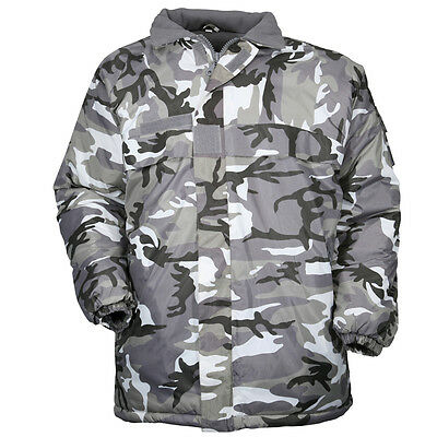 COUPE VENT IMPERMEABLE Camouflage Urbain Gris Taille S Promo