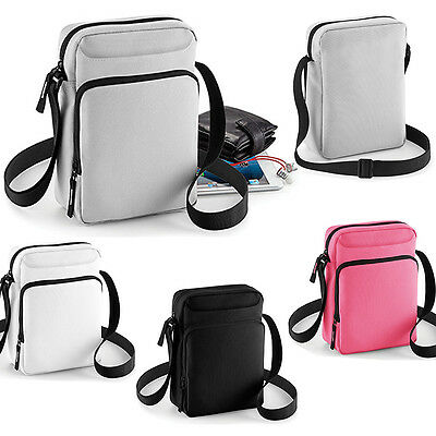BagBase BG30 Umhängetasche Reporter Bag Tablet Ipad Messenger Tasche Body Bag