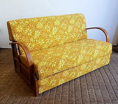Art Deco Style Sofa Day Bed / Bed Settee