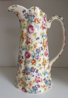 LORD NELSON WARE Floral Design Pitcher Jug