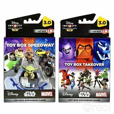 New Disney Infinity 3.0 Toy Box Takeover Or Speedway Expansion Game Official