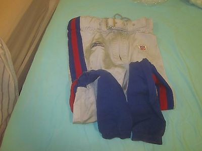 2006 NFL Football New York Giants Game Used Pants #47 Will Demps