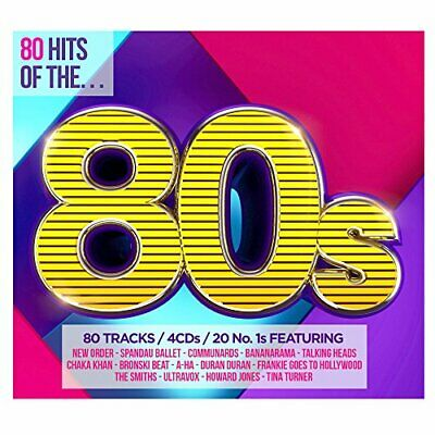Various Artists - 80 Hits of the 80s - Various Artists CD A0VG The Cheap Fast