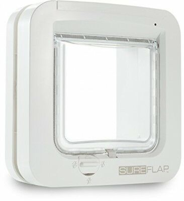 GENUINE Sureflap Microchip Pet door Catflap Small Dog Cats WHITE