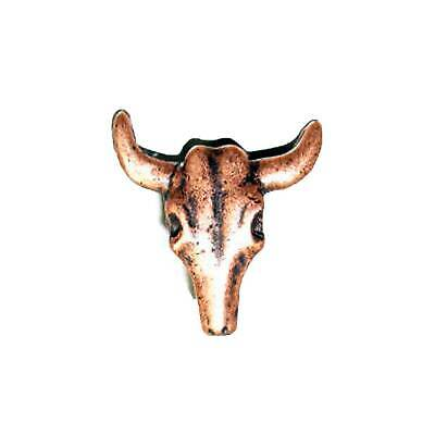 Longhorn Skull Splashback Concho Decorative Leathercraft Accessory