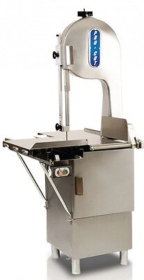 """New Butcher Meat Band Saw 1-1/2 Hp  116""""  220 Volt 1 Phase"""