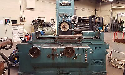 """Churchill Automatic Surface Grinder Model OSB - 24"""" x 8"""" Magnetic Chuck - 440V"""