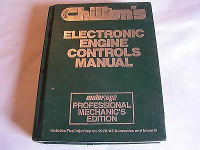 1985 Chilton's Electronic Engine Controls Manual Professional