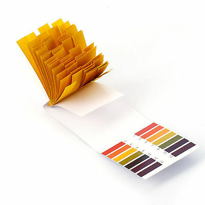 10 Lot 80 Pcs par lot bandelette papier ph 1-14 valeur indicateur analyseur