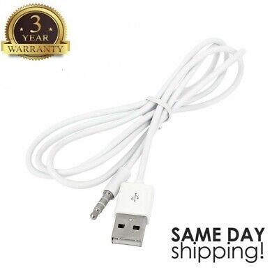 For iPod Shuffle USB Data Sync Charger Cable Cord 3rd & 4th Gen