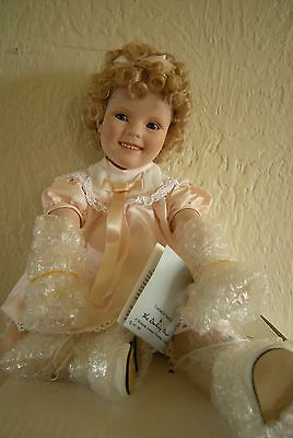Little Miss Shirley Doll by Elke Hutchens for Danbury Mint