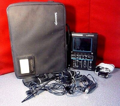 Tektronix TekScope THS710A Digital Oscilloscope Multimeter + P6117 Probe T#7098