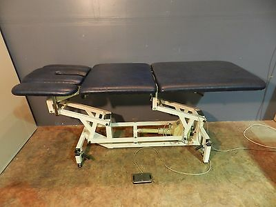 Akron Model 923 LC Physical Therapy Hi-Lo Treatment Table