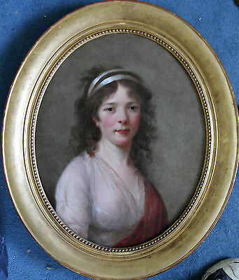 ELIZABETH VIGEE LE BRUN circle 18thC FRENCH ART OLD MASTER OIL PAINTING PORTRAIT