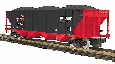 MTH 70-75053 G Gauge/One Gauge 4-Bay Hopper Car Norfolk Southern First Responder