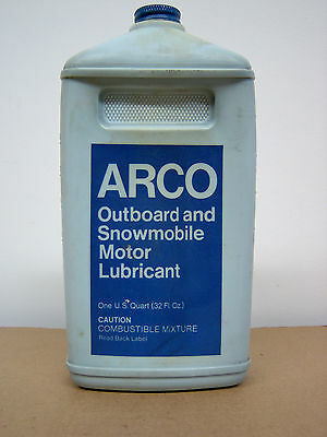 Vintage  Arco  Outboard  And  Snowmobile  Lubricant