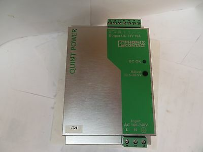 Phoenix Contact Power Supply Quint-Ps-100-240Ac/24Dc/10 100-240Vac In 24Vdc Out