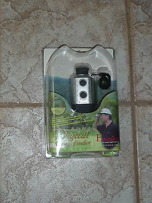 New Sealed EZONICS EZ-628 400 Yard Golf Scope with Range Finder