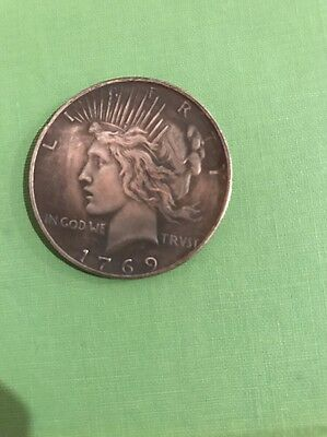 1769 Peace Dollar Revolutionary Fantasy Coin