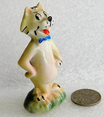 Mr Jinks cat Wade figurine vintage 1960s Hanna-Barbera cartoon animal character